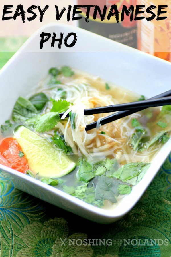 Easy Vietnamese Pho + 14 more easy soup recipes for National Homemade Soup Day!
