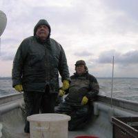 Friedrichshafen: Fischfang bei jedem Wetter