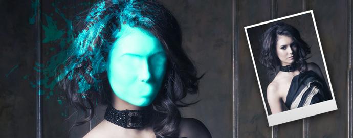 Photoshop ile Yüze Sıçrayan Fotoğraf Efekti