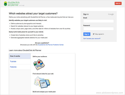 Doubleclick Ad Planner