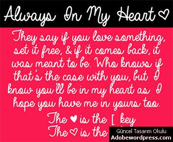 Always In My Heart