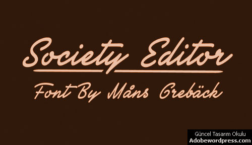 Society Editor Personal