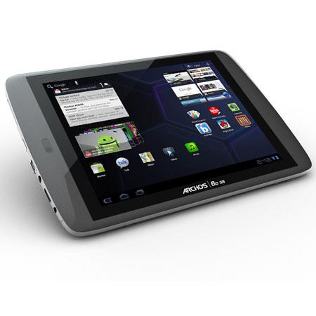 "Archos 80 G9 16GB Tablet, 8"" Display, 1024x768 Resolution, 720p HD Video, Dual-Core A9 OMAP 4 1.0GHz Processor, Android 3.2 Honeycomb"