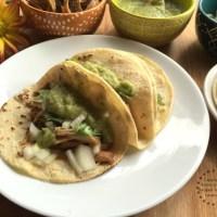 Receta para los Tacos de Carnitas