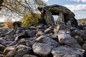 Dyffryn Burial Chamber Top View
