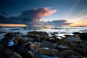 Rhosneigr Smooth Storm Skies