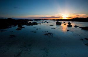 Sunset Blue