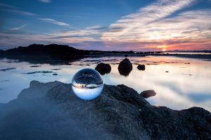 Sunset Sea Crystal