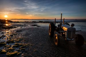 Sunset Beach Tractor