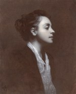 "Piambura of Heather #2 ©2011 By Adrian Gottlieb Oil on Belgian Linen Size: 16"" x 20""  S. R. BRENNEN GALLERIES SOLD"