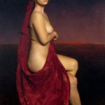 "Sophia, ©2006 By Adrian Gottlieb Oil on Linen Size: 36"" x 24"" CALIFORNIA ART CLUB SOLD: Collection of Janet & Michael Fourticq,CA"