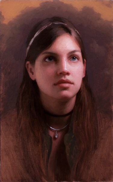 12 x 9 inches, oil on panel by Adrian Gottlieb