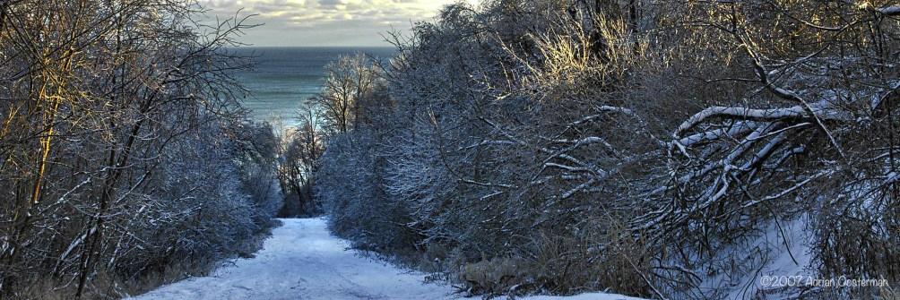 Lake Road Winter