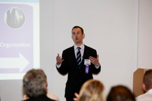 Adrian speaking at the BA Conference Europe 2011