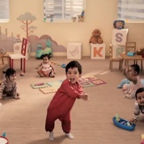 Kit Kat Dancing Babies Commercial