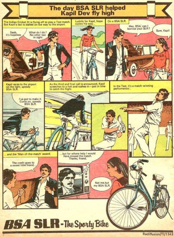kapil dev in comics