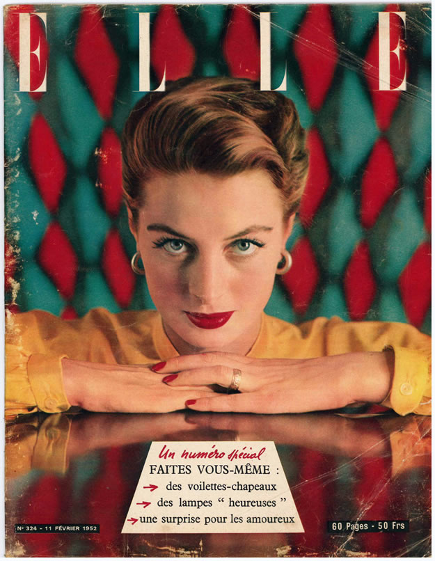 Elle magazine, 1952