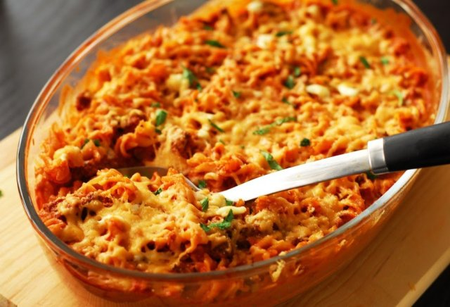 Spicy Baked Pasta - A Duck's Oven