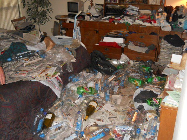 Trashed Atlanta Home