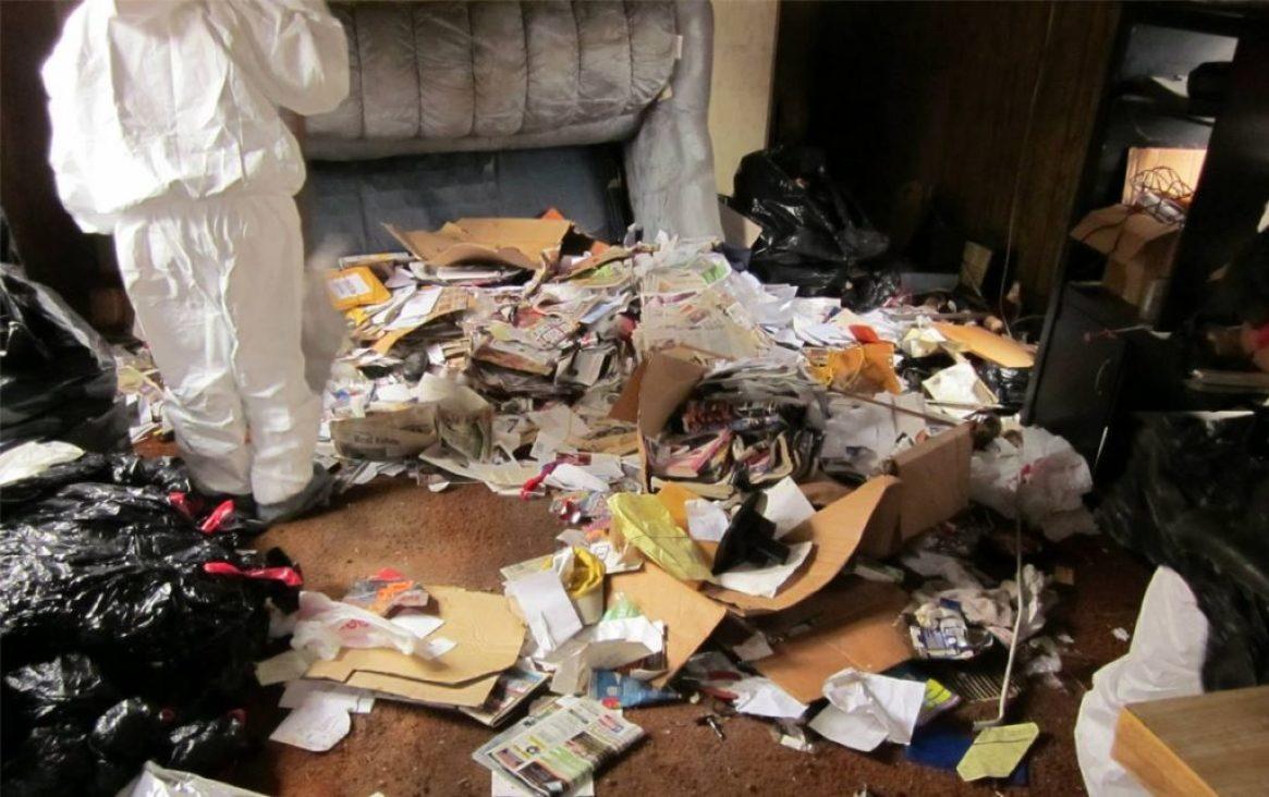 Hoarding Disaster In Napa Valley, CA