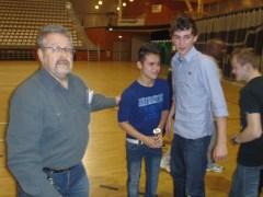 En dan was er natuurlijk nog een sportiviteitsbeker te winnen. Dit jaar ging die naar het voetbalteam van Huis ter Heide.
