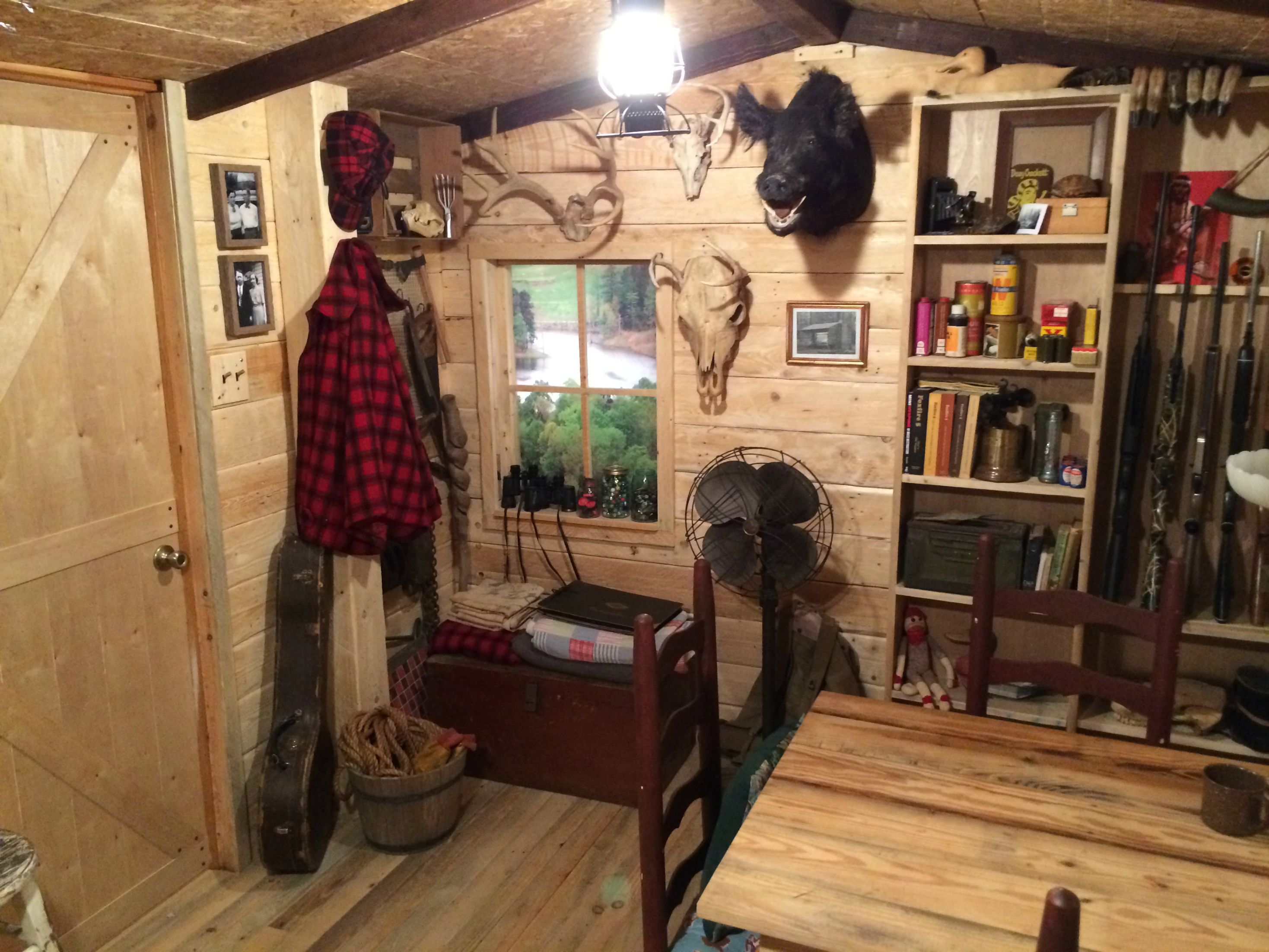Chic Adventure Journal Weekend Cabin Man Cave That Has To Be Seen To Be Believed Man Cave Store Buford Ga Man Cave Store San Bernardino houzz-02 Man Cave Store