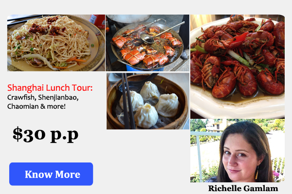 Shanghai Lunch Tour