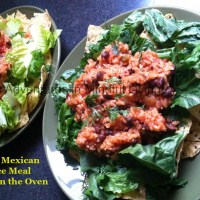 Easy Mexican Rice in the oven
