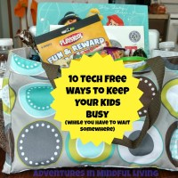 10 Ways to Keep Your Kids Busy (While You Have to Wait)
