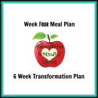 Week 4 Meal Plan (6 Week Transformation)