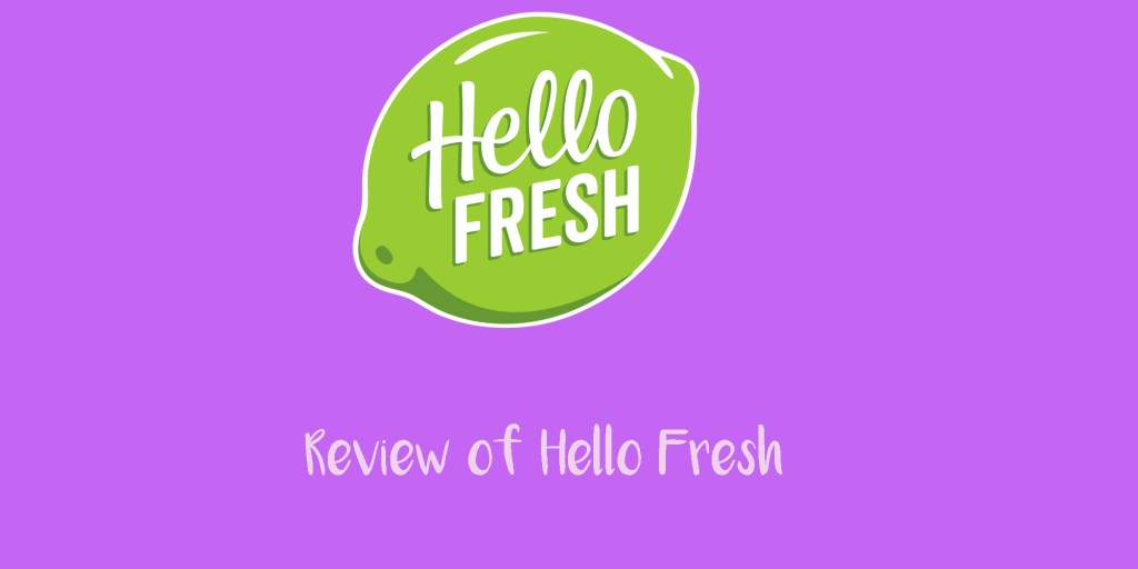 review of hello fresh
