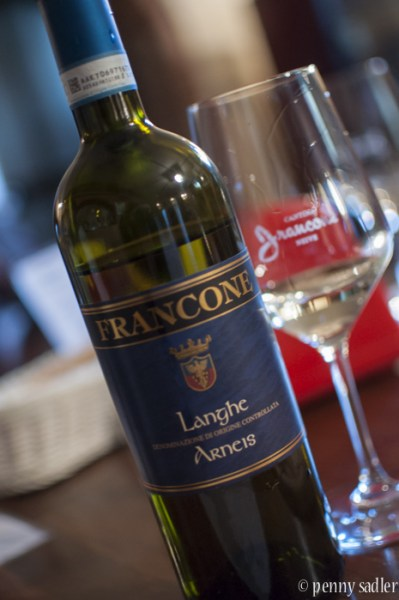 A beautiful wine tasting and tour Francone Neive Italy