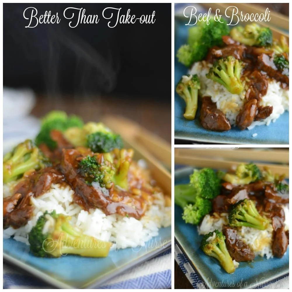 Better than Take-out Beef & Broccoli