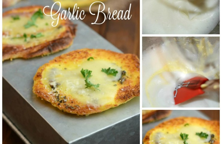 Carb Free Gluten Free Garlic Bread
