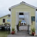 Cute Belizean Spa on the Dock