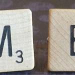 me in scrabble letters