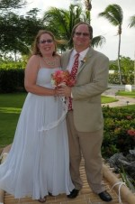 Wedding day alison and john