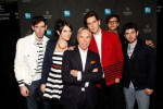 Cobra Starship with Tommy Hilifger at the American Express Cardmember Only Show