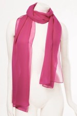 miguelina pink scarf