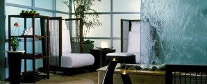 Relax here before and after your treatments at the Aqua Spa