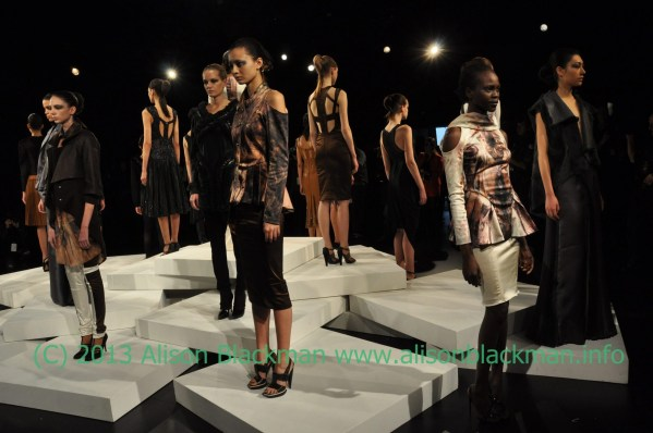 Fashion Week Report: Hernan Lander Fall 2103 @HernanLander @UniteHair @ZoyaNailPolish #MBFW, #NYFW, #beauty, #Fashion