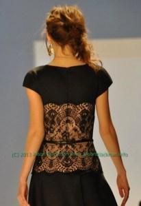 tadashi black lace detailmarked