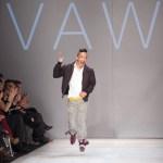 designer Sunny Fong of Vawk and Vaukkin,  Toronto Fashion Week