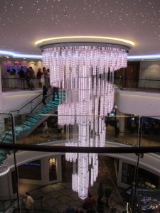 ncl breakaway main chandelier