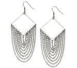 s steel earrings