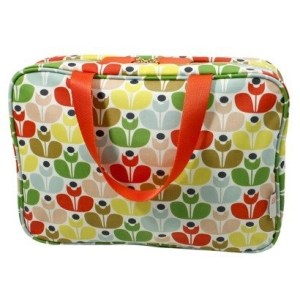 orla kiely sweet pea weekender bag