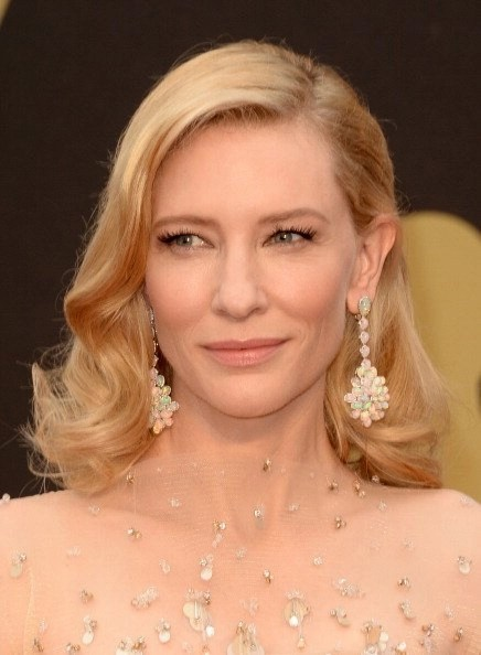 "Steal Cate Blanchett's Oscar Hair Look – ""How-to"" from Jenny Balding, NYC Cutler/Redken Styling and Grooming Expert  @JennyBalding1 @Redken @CutlerSalon"