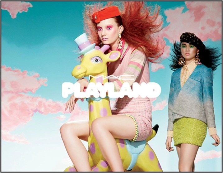 mac playland poster