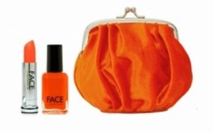 face stockholm lips and tips gift set matte orange