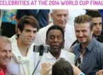 celebrities at the world cup finals 2014
